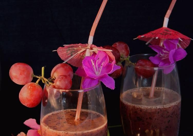Smoothie con Arándanos: Antioxidante y Nutritivo