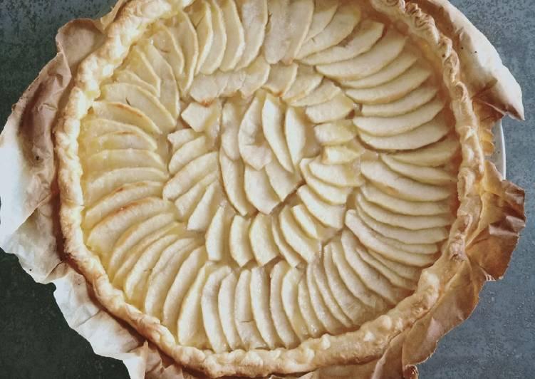 recette Tarte aux pommes le délicieux