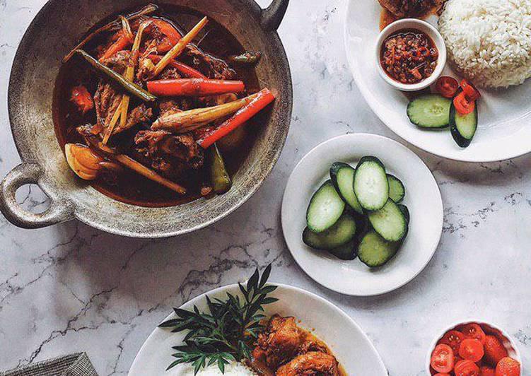 Nasi Putih dan Ayam Kicap Serai #phopbylinimohd #task1