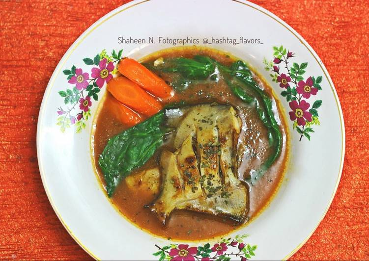 How to Make Perfect Pan Seared Pomfret & Glazed carrots & Fish Consommé