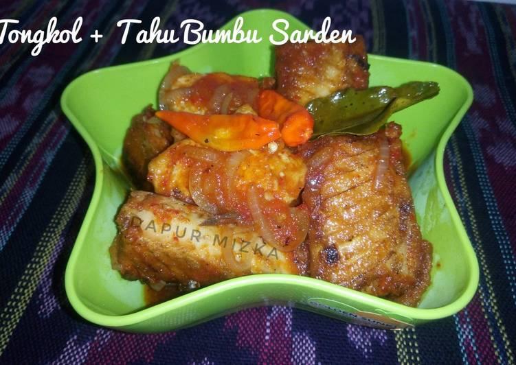 Tongkol + Tahu Bumbu Sarden