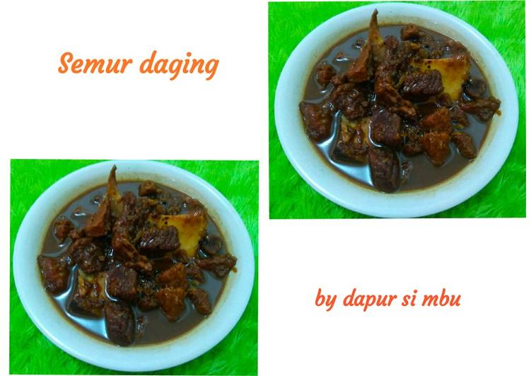 Resep Semur daging sapi simple Top Enaknya