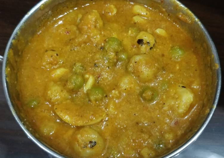 Makhana Kaju Matar Curry Finding Healthy Fast Food