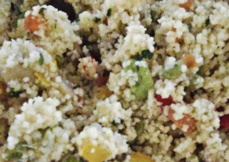 Ricetta Couscous di verdure
