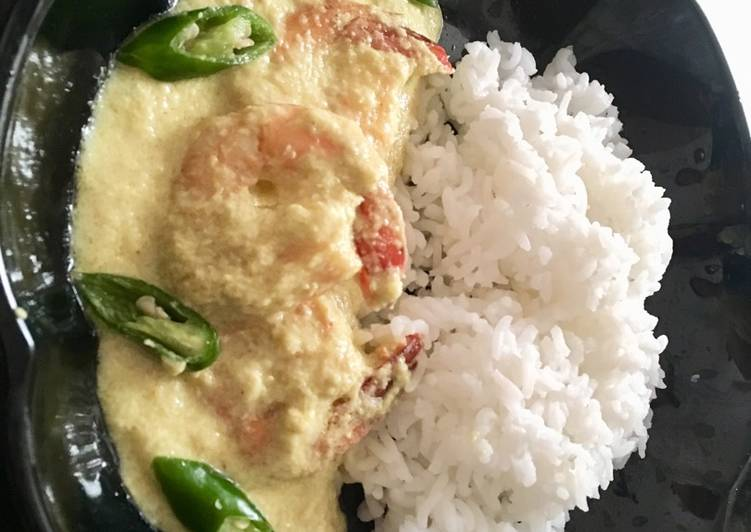 Prawn Malai Curry Finding Healthy Fast Food