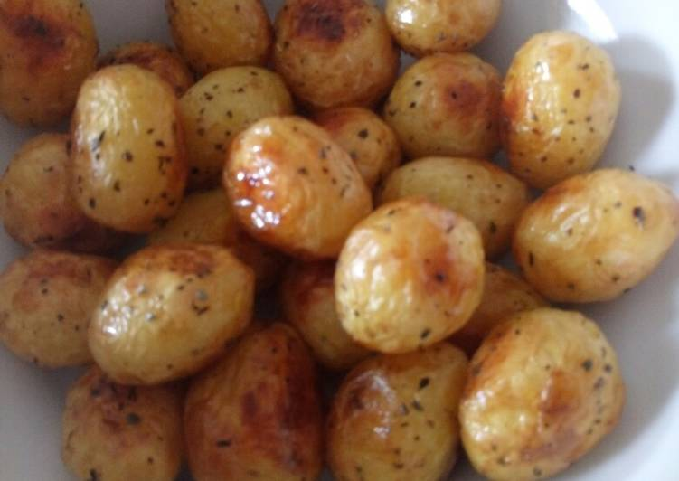 Perfect new roasted potatoes