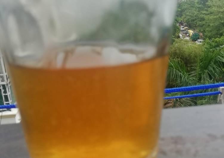 Recipe of Super Quick Homemade Lemon Tea