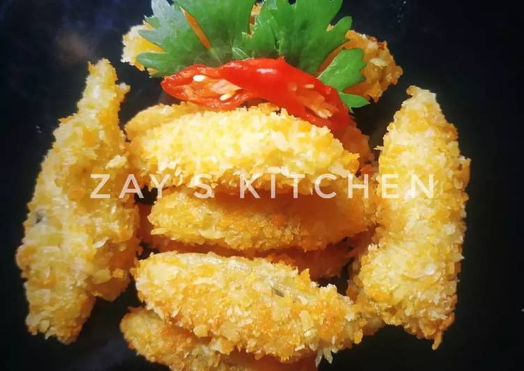 Kari kentang tepung panir