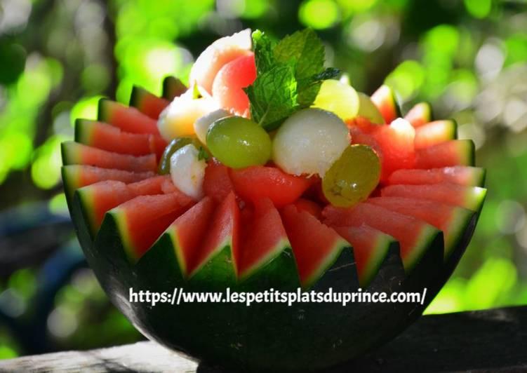 Salade de fruits jolie, jolie..