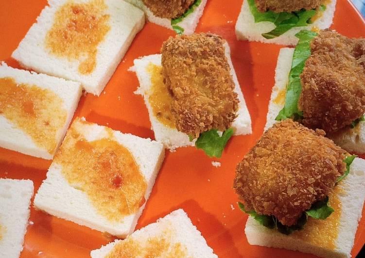 Sandwich Isi Dori Krispi