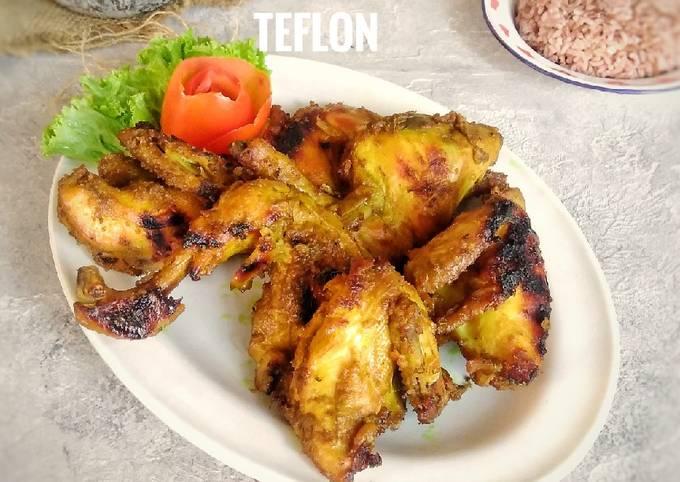 Ayam bakar gurih teflon