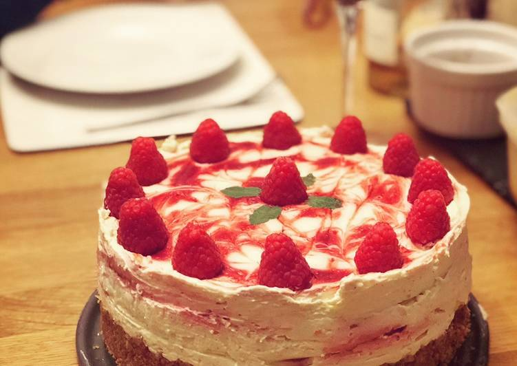 Recipe of Favorite Cranachan Cheesecake (no-bake)