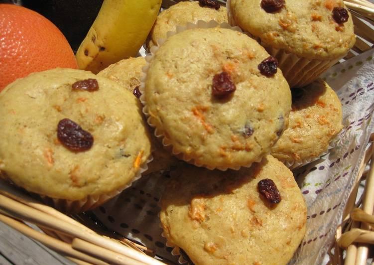 Recipe: Delicious Carrot Raisin Muffins