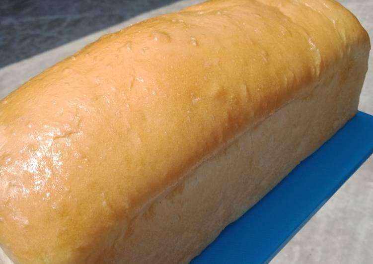 Roti Tawar Homemade (tanpa telur tetep empuk) 🍞