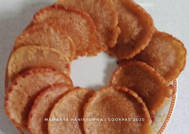 Kue Cucur Gula Merah