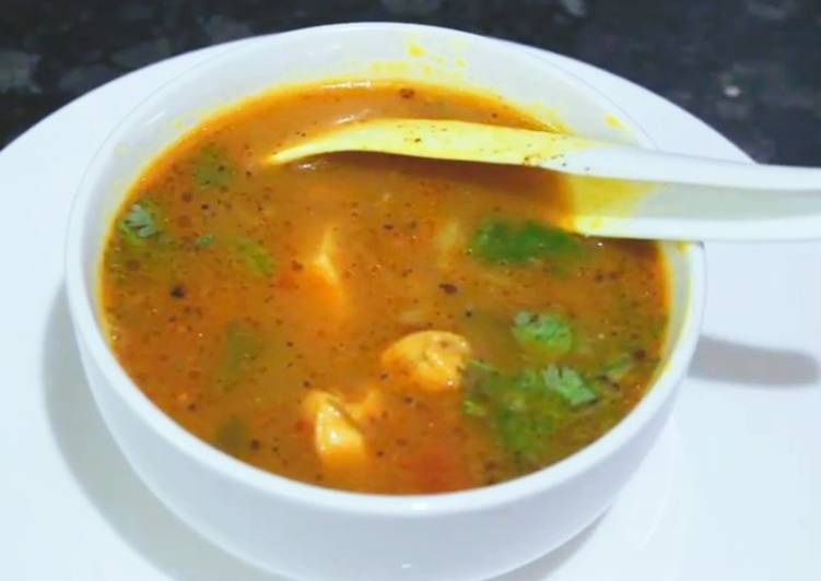 Easiest Way to Make Any-night-of-the-week Country Chicken Soup/Nattu Kozhi Rasam