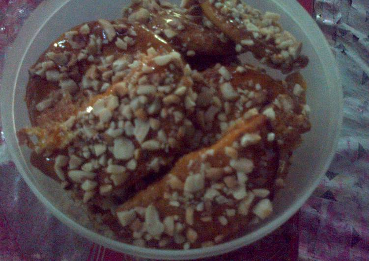 Resep Biskuit Kacang Caramel Oleh Ukhty Ida Cookpad