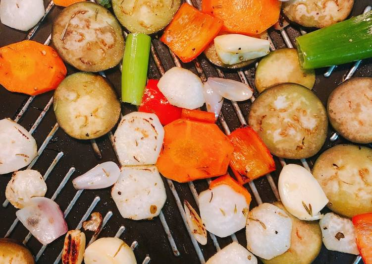 Simple Grilled Vegetables - Laurie G Edwards