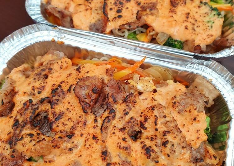 Resep Beef Mentai Shirataki With Veggies Oleh Echy L Cookpad