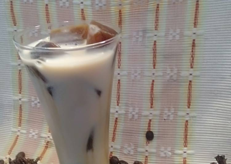 Milk Coffe Ice Cube ala cafe