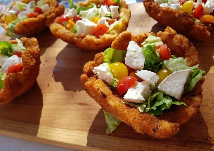 recette Coupelle de poulet et sa salade composée Le plus simple