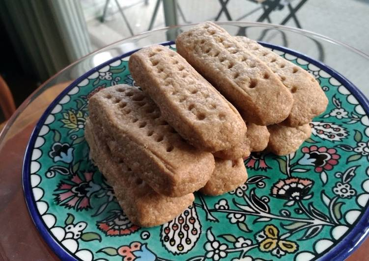 Healthy Shortbread Cookies