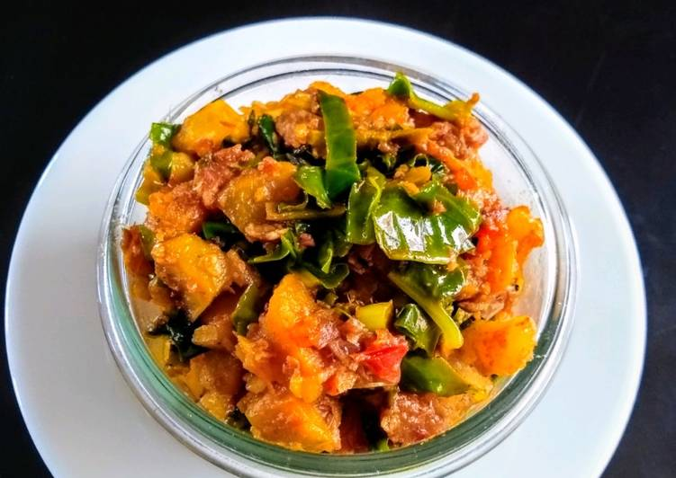 Recipe of Any-night-of-the-week Poi Chhencheda (veg) from Odisha