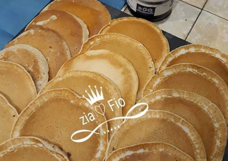 Pancakes gustosi e light