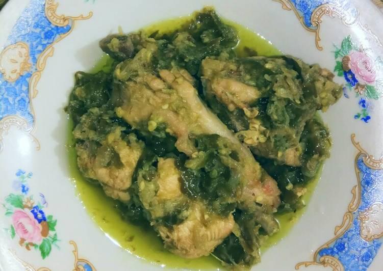 Ayam samba lado hijau gampang anti gagal yang empuk dan enak