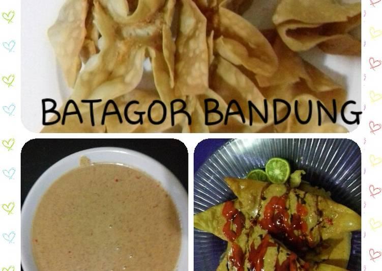 resep cara mengolah Batagor bandung