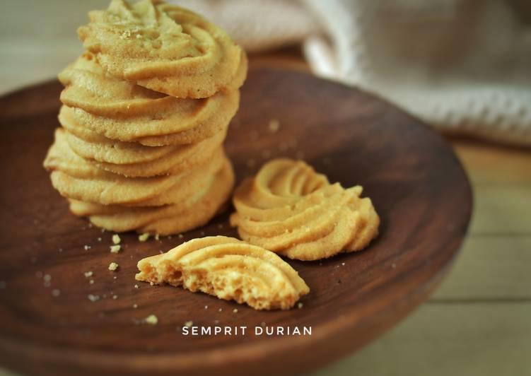 Semprit Durian - Durian cookies