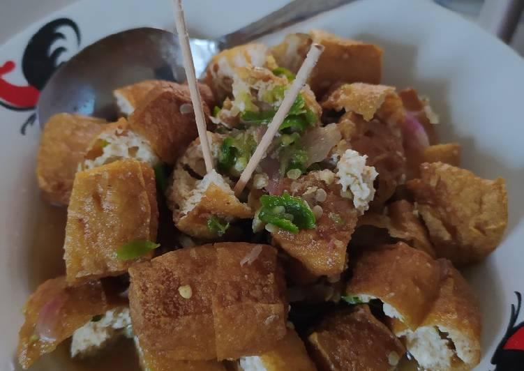 Tahu gejrot - cookandrecipe.com