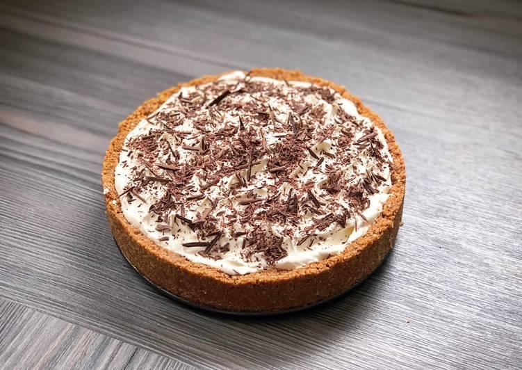 Easy No-Bake Banoffee Pie