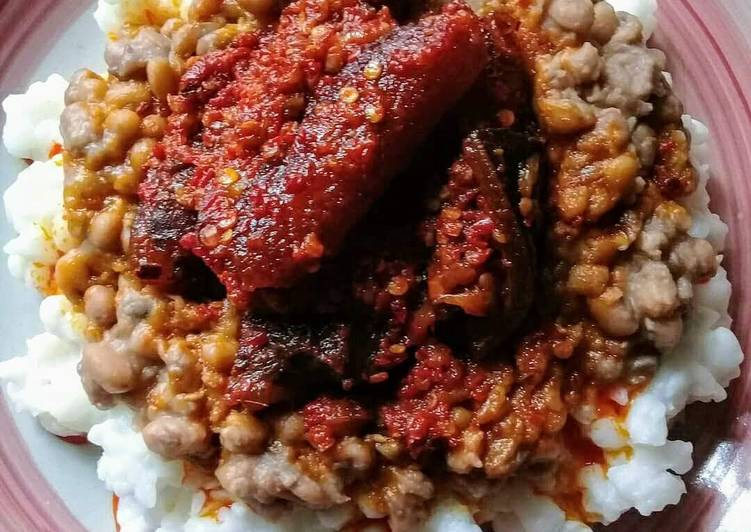 Egbo (Corn meal)and Beans #Oyostate, What Are The Benefits Of Eating Superfoods?