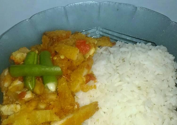 Hot Chicken Katsu Geprek