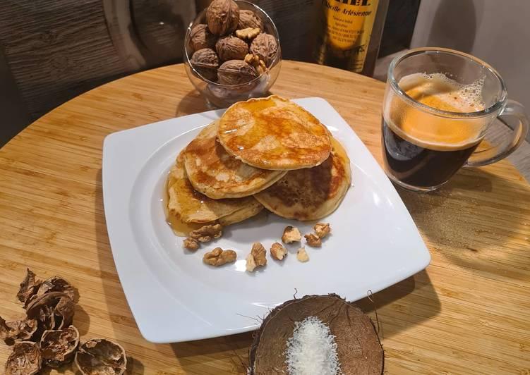 Pancakes crème de coco