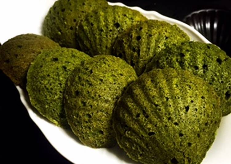 Japanese Green Tea (Matcha) Madeleine