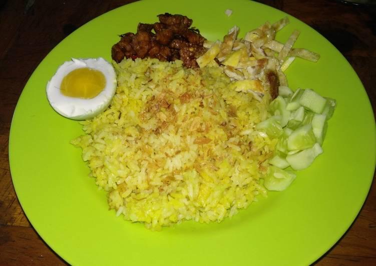 Nasi kuning rice cooker - cookandrecipe.com