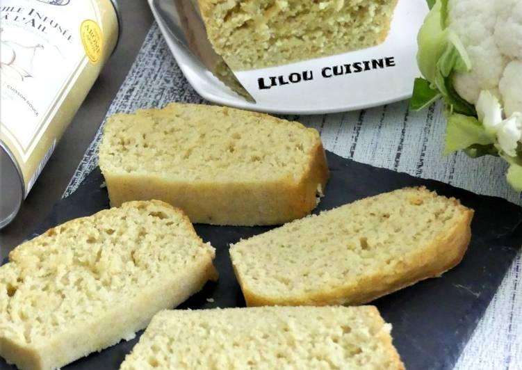 Recette Appétissante Cake au chou-fleur