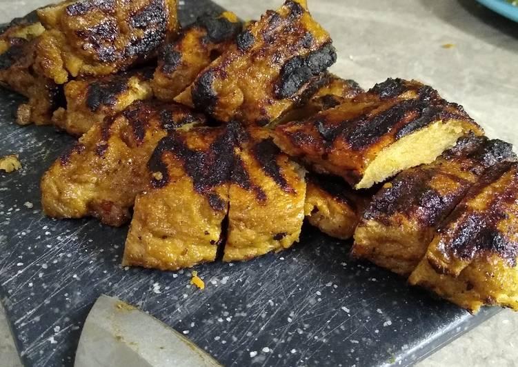 Seitan BBQ Chicken