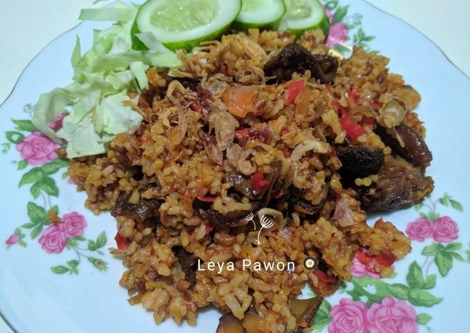 Nasi goreng merah daging sapi - projectfootsteps.org