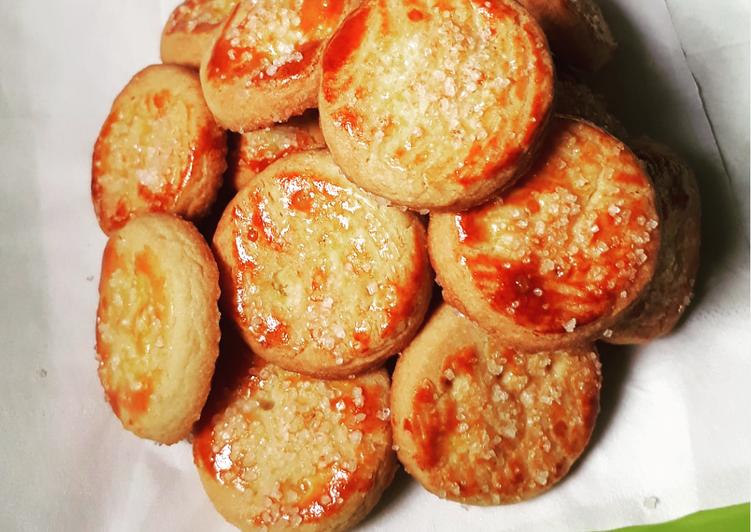 Resep: Berselera Butter Cookies