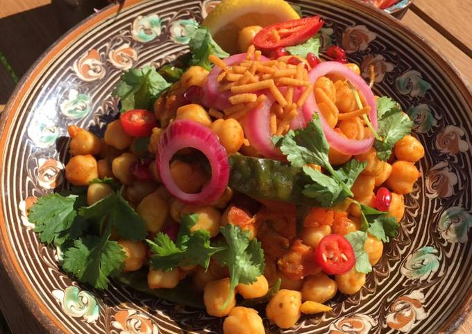 Chickpea and Veg Pathia Curry🌿🌱