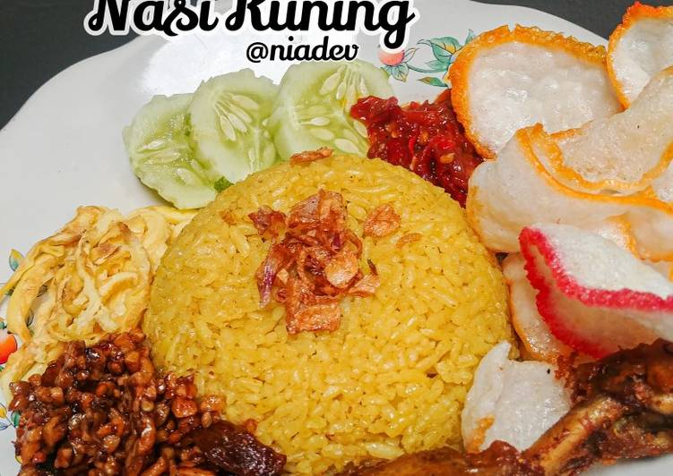 Nasi Kuning simple rice cooker