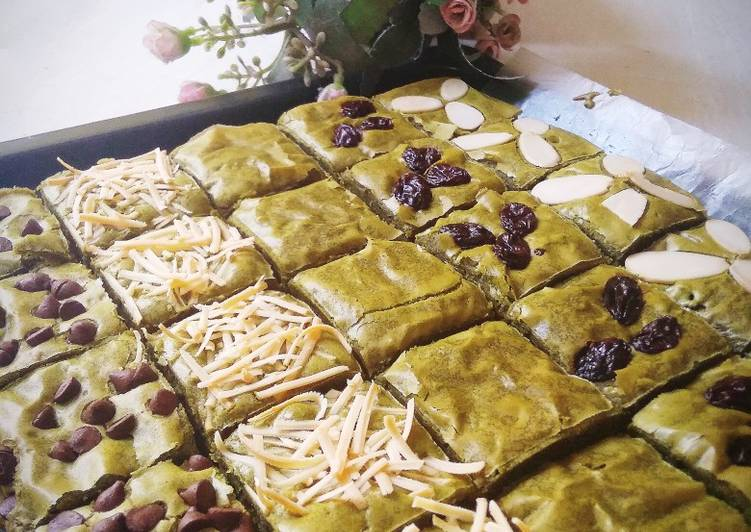 Greenteas (Brownies matcha)