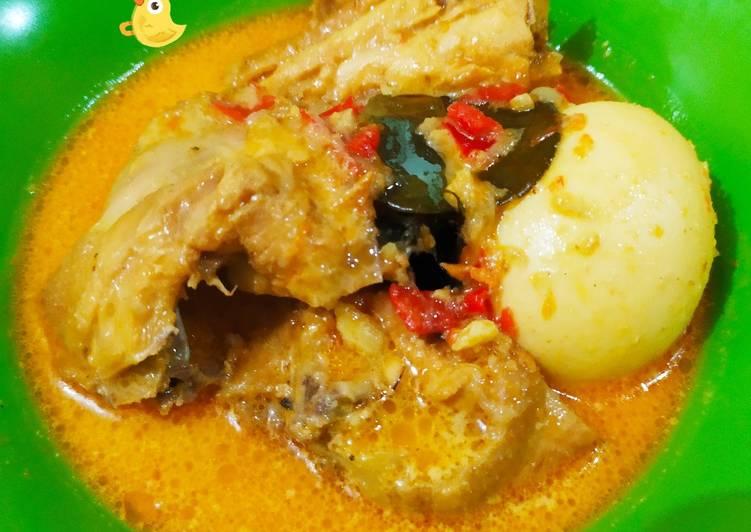 Resep Gulai Ayam Telor Yang Simple Endes