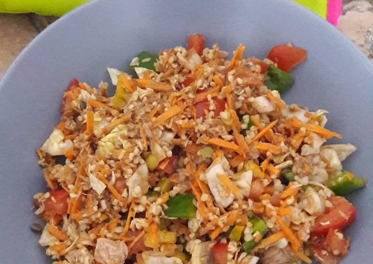 Comment Cuisiner Salade complète express'