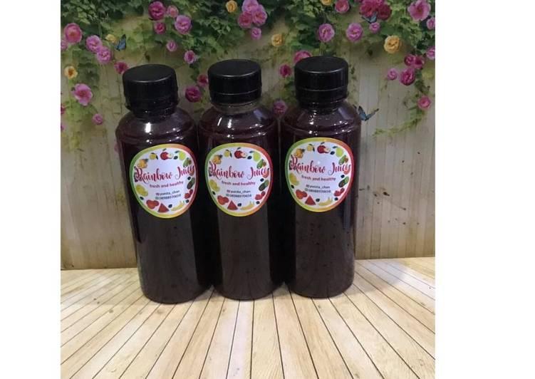 Resep Diet Juice Moringa Romaine Pear Beetroot