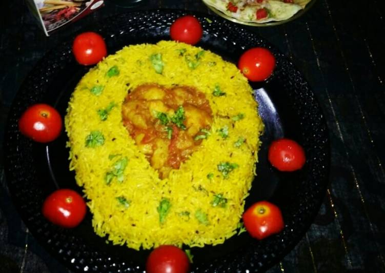 Zeera Rice with aloo curry in unique style, Heart Friendly Foods You Must Eat