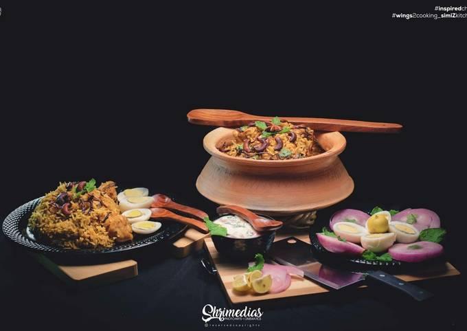 CHICKEN DUM BIRYANI (Ramdan recipes)
